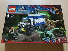 Lego 75917 Jurassic world RAPTOR RAMPAGE . New fab rare set