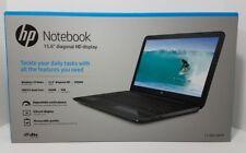 "NEW HP 15-ba018wm 15.6"" Laptop AMD Quad-Core E2-7110 1.8Ghz 4GB RAM 500GB Win 10"