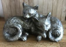 Latex Mould for making this Lovely Cuddling Cats Statue