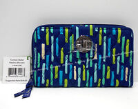 Vera Bradley Turn Lock Wallet KATALINA SHOWERS Turnlock NWT