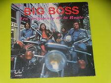 45  tours SP - BIG BOSS - LES SEIGNEURS DE LA ROUTE - 1970' - POCHETTE MOTO