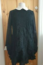 JJ's Fairyland Long Sleeved Black Dress Size 14. BNWT.
