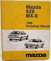 1994 Mazda 626 Mx 6 Mx6 Electrical Wiring Diagram Service Repair Fsm Manual Ebay