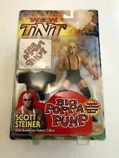 WCW TNT Scott Steiner Wrestling Action Figure ToyBiz T-Shirt & Tattoos 2000