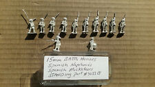 15mm Battle Honors  Spanish   Napoleonic  Musketeers Standing