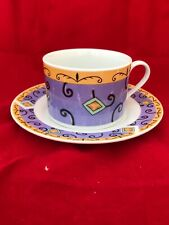 Set Of 4 Retro royal norfolk Coffee Cups And Saucers *Unused*