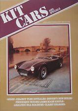 Kit Car magazine 01-2/1982 featuring Dutton Melos, Charger, Leviathan, BRA