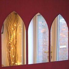 Gothic Arch SPECCHIO-Set di 3 (45 cm x 20 cm ciascuno)