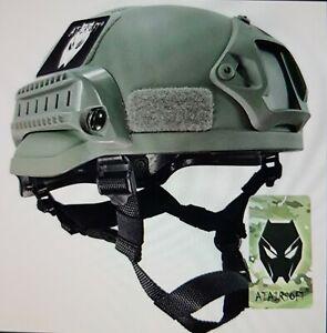 US MICH 2002 Helm oliv green Atairsoft Airsoft neu