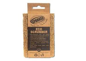 Coconut Fiber Coir Scrubber Sparkle Organic Kitchen Cleaning Pad  ECO Friendly