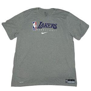 Nike NBA Los Angeles Lakers Shooting Practice TShirt Sz 3XL-Tall CD2739-063