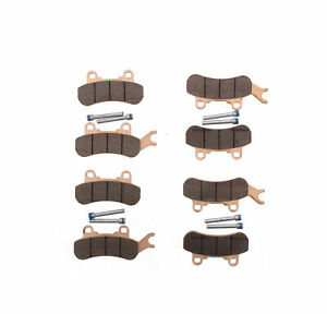Brake Pads for Can-Am Maverick X3 4x4 2017-2021 Front and Rear Brakes