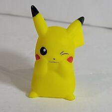 B. 13 Pokemon Finger Puppet Winking Pikachu Catch Them All Nintendo Bandai