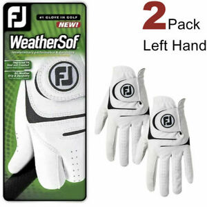 FootJoy Men's WeatherSof 2-Pack Golf Glove White Left Hand Select Size