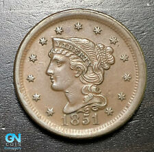 1851 Braided Hair Large Cent --  MAKE US AN OFFER!  #B6256