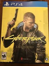 Brand New Cyberpunk 2077 Collectors Edition for PlayStation 4 5 PS4 PS5 IN HAND