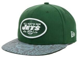 NEW YORK JETS - NEW ERA 59FIFTY YOUTH 2014 DRAFT DAY FITTED HAT 6 3/8
