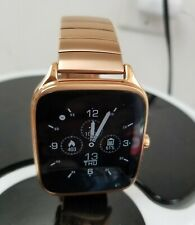 """Asus Zenwatch 2 1.63"""" Android Wear Smartwatch Rose Gold WI501Q Quick Charge"""