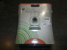 XBOX 360 LIVE VISION COMPREND WEBCAM + CASQUE XBOX 360 + 1MOIS XBOX LIVE GOLD MI