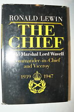 WW2 British The Chief Field Marshal Lord Wavell Commander n Chief Reference Book