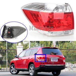 Left Passenger Side Rear Tail Light Lamp For Toyota Kluger GSU40 45 2011-2014 AU