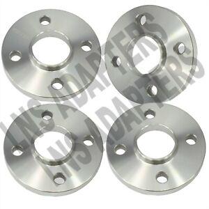 4 Lug 15mm Hubcentric Wheel Spacers 4x100 | 4pcs | Fits 4 LUG BMW AUDI VW | 57.1