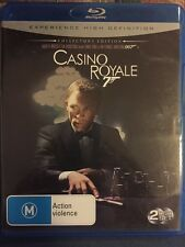 Casino Royale- Daniel Craig- 2 Disc Collector's Edition- Blu Ray- Free Post!!