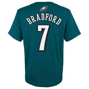 "Sam Bradford NFL Philadelphia Eagles Teal ""Mainliner"" Jersey T-Shirt Youth"