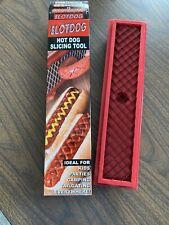 Brand New Slotdog Hotdog Slicing Hot Dog Scoring Tool great grilling Grill Tool