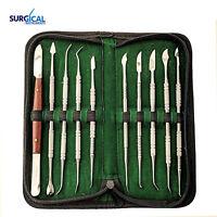 Stainless Steel Wax Carving Tool Set Sculpting Tool Set Dental Instrument Kit
