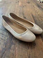 Naturalizer Women's Brittany Ballet Flats US 12 M Metallic Pink Leather Comfort