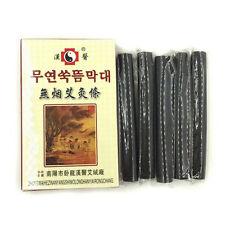 5pcs/box Black Traditional Smokeless Moxa Stick Roll  14*110mm Moxibustion  EB
