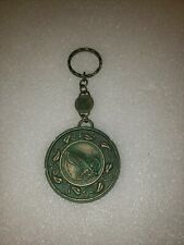 Lord Of The Rings Lotr Metal Medallion Keychain Fellowship of the Ring vintage