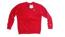 Puma Ferrari Damen Sweatshirt Oberteil Pullover Shirt rot L 40 NEU