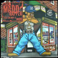 "MADD RAPPER ""TELL EM WHY U MADD"" 1999 2X VINYL LP ALBUM 50 CENT, EMINEM *SEALED*"