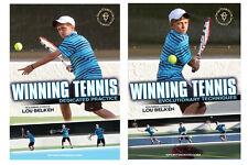 Winning Tennis 2 DVD Set - with former Arizona State University Coach Lou Belken
