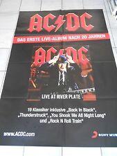 AC/DC + + live album ORIG. Concert-TOUR POSTER 168 x 118 CM, sondergrösse