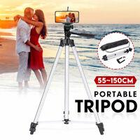 Telecamera regolabile Tripod Stand 150cm telefono titolare montare 360° rotazion