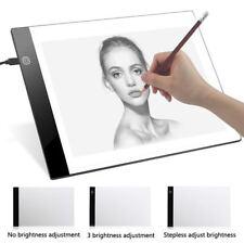 Dimmable LED Light Box Artist Thin Art Stencil Board Comic Drawing Board ZD