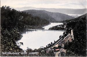 Waterworks near Hobart Tasmania Vintage Postcard