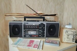 NOS SOVIET BOOMBOX SCIF SCYTHIAN RM 211S Cassette Radio Vintage USSR