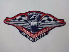 2001 Formula-1 United States Grand Prix Indianapolis Event Emblem Patche