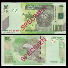 [Specimen] Congo 1000 Francs, 2013, P-101s, UNC