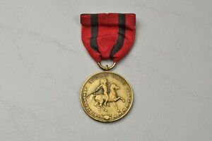 U.S. INDIAN WARS CAMPAIGN MEDAL w/WRAP BROACH - NUMBERED