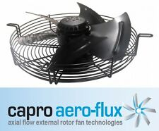 550MM 3-PHASE 6-POLE AXIAL FAN + GRILL SUCTION CAPRO AERO FLUX 6D550 415V