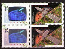 Canada 1992 Sc1442a Mi1323-24 4.80 MiEu  1 block  mnh  Canada in Space