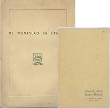 * Soetens, Le Monnayage à Kampen, De Muntslag in Kampen, 1er tirage+réimpr. 1962