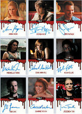 True Blood Premiere Ultimate Master Card Set 40 Autograph All Chase Promo Binder