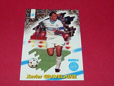 PANINI FOOTBALL CARD 98 1997-1998 XAVIER GRAVELAINE OLYMPIQUE MARSEILLE OM