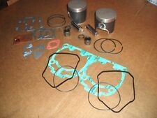 SKIDOO 800R DUAL TWIN RING PISTON TOP END KIT WITH BEARINGS & GASKETS NEW MXZ